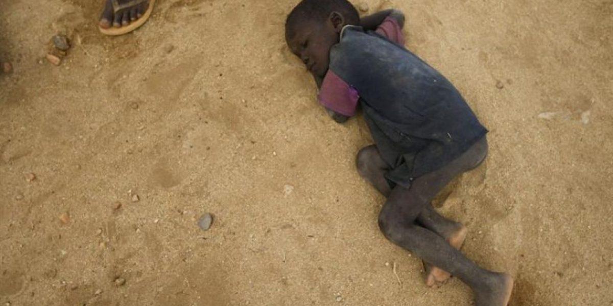 Desgarradoras imágenes de la hambruna en África