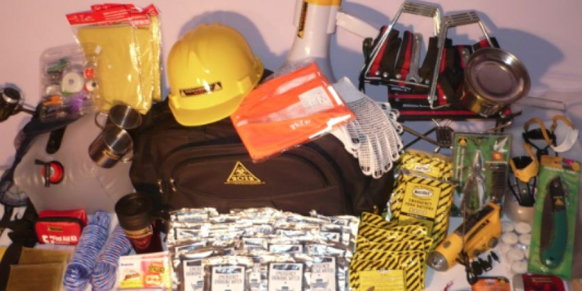 Furor por kit de supervivencia para el 2012: Tienen hasta baño portátil