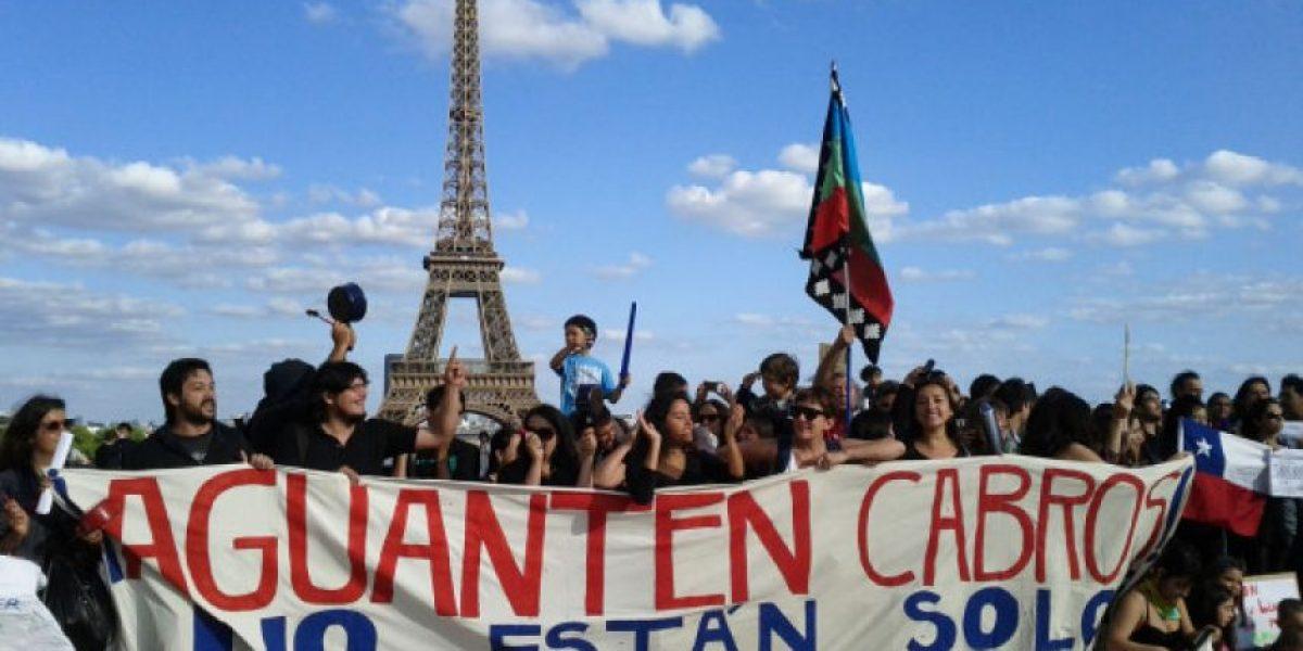 En París, Barcelona y Buenos Aires también hubo
