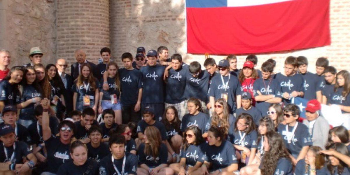 Más de 3 mil jóvenes chilenos participan en encuentro con el Papa en Madrid