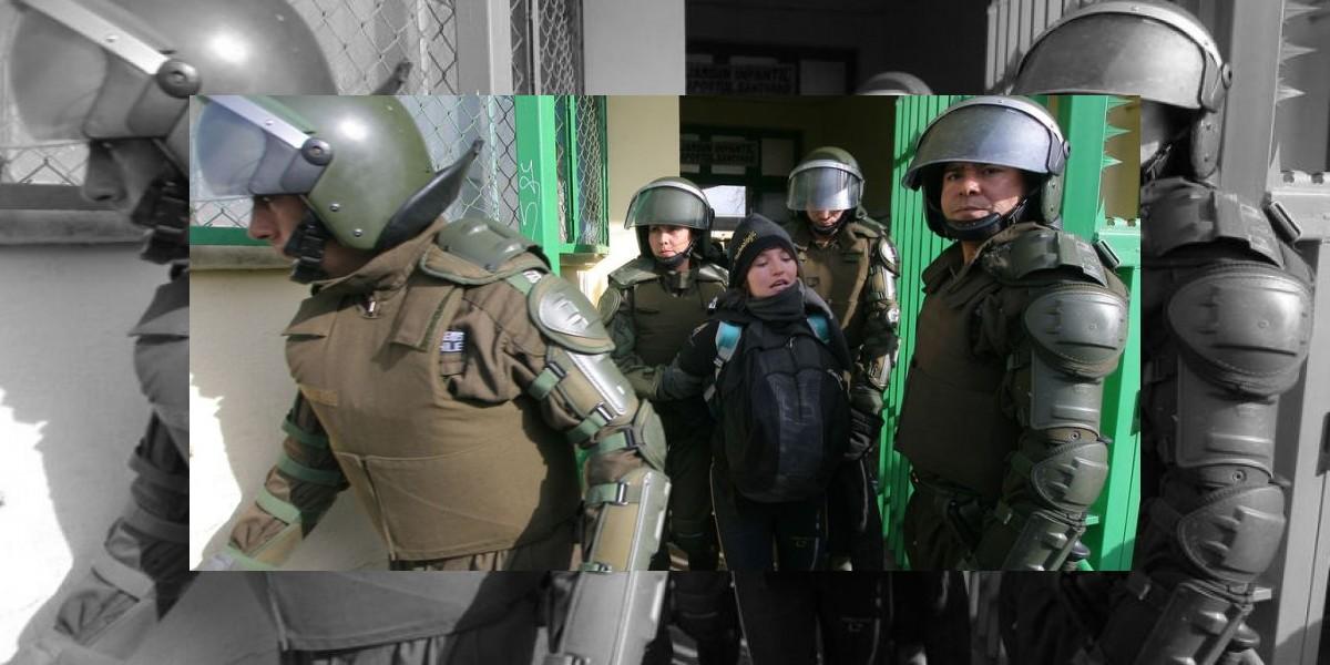 Desalojan Liceo 7 de Ñuñoa presuntamente con orden adulterada
