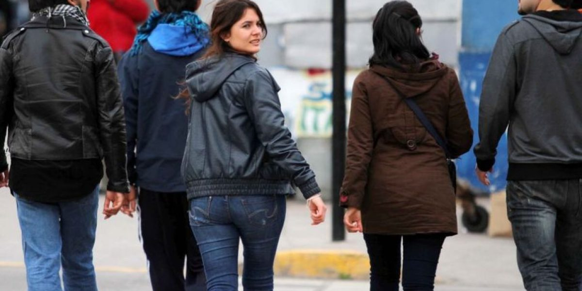 [FOTOS] Camila Vallejo saludó a manifestantes que participan en paro de la CUT