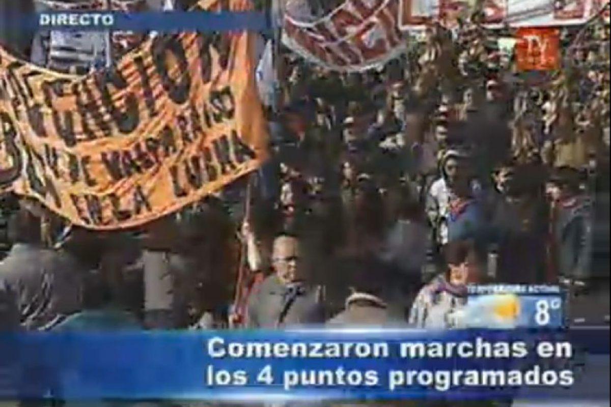Foto:Imagen de TV (TVN). Imagen Por: