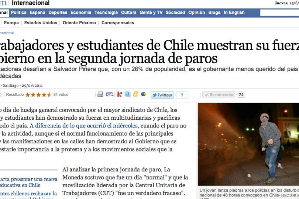 Foto:Reproducción El País (España). Imagen Por: