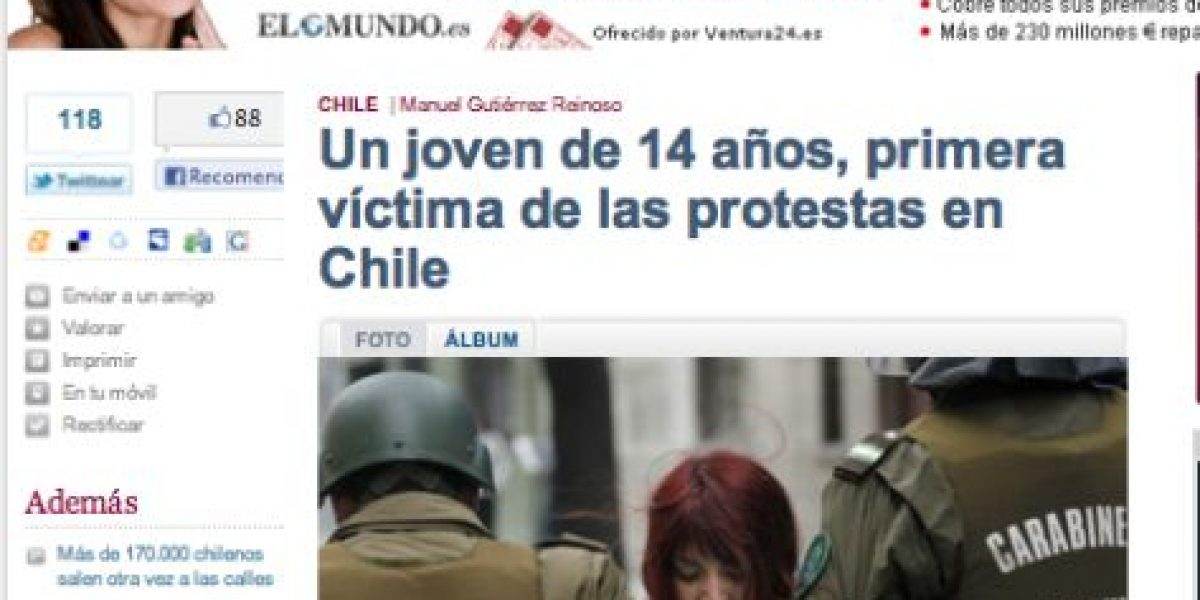 [FOTOS] Chile en el