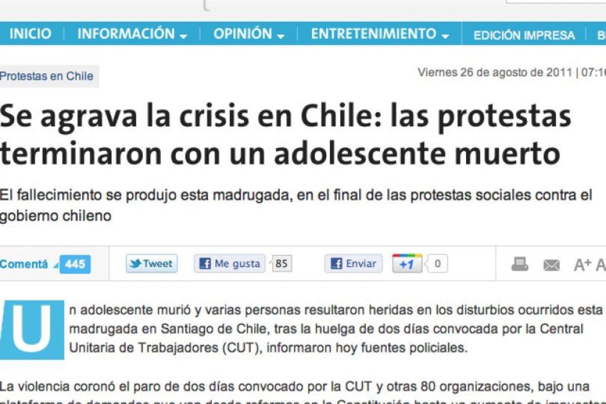 Foto:La Nación (Argentina). Imagen Por: