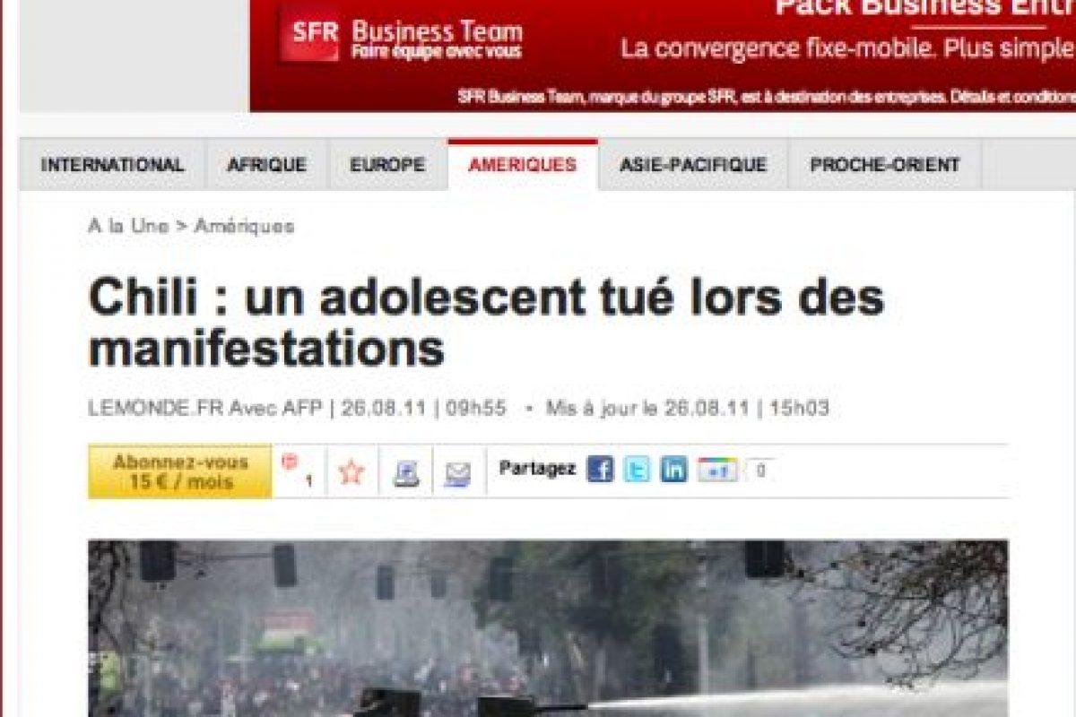 Foto:Le Monde (Francia). Imagen Por: