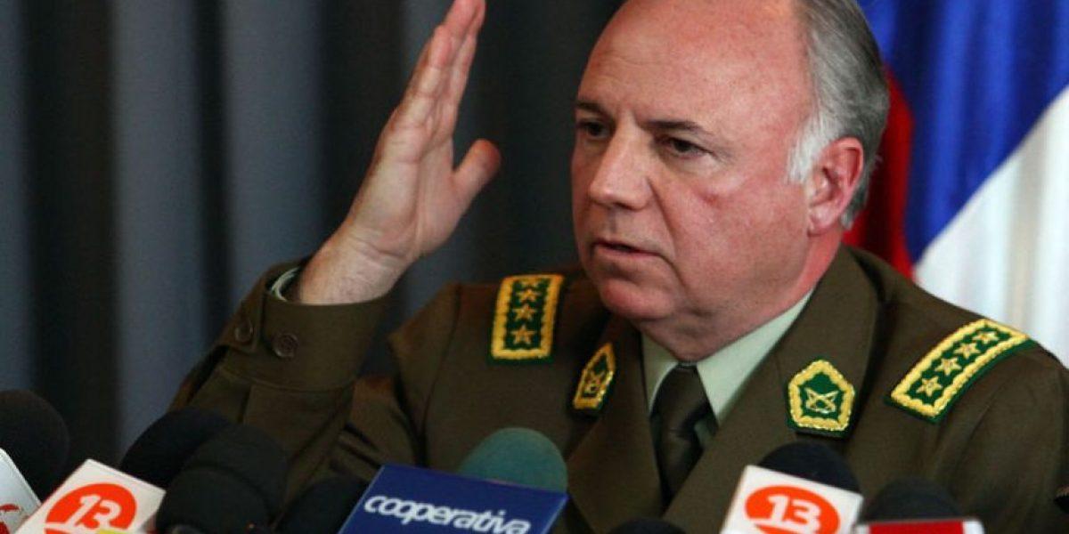 Gordon confirma baja de un general y otros tres oficiales de carabineros