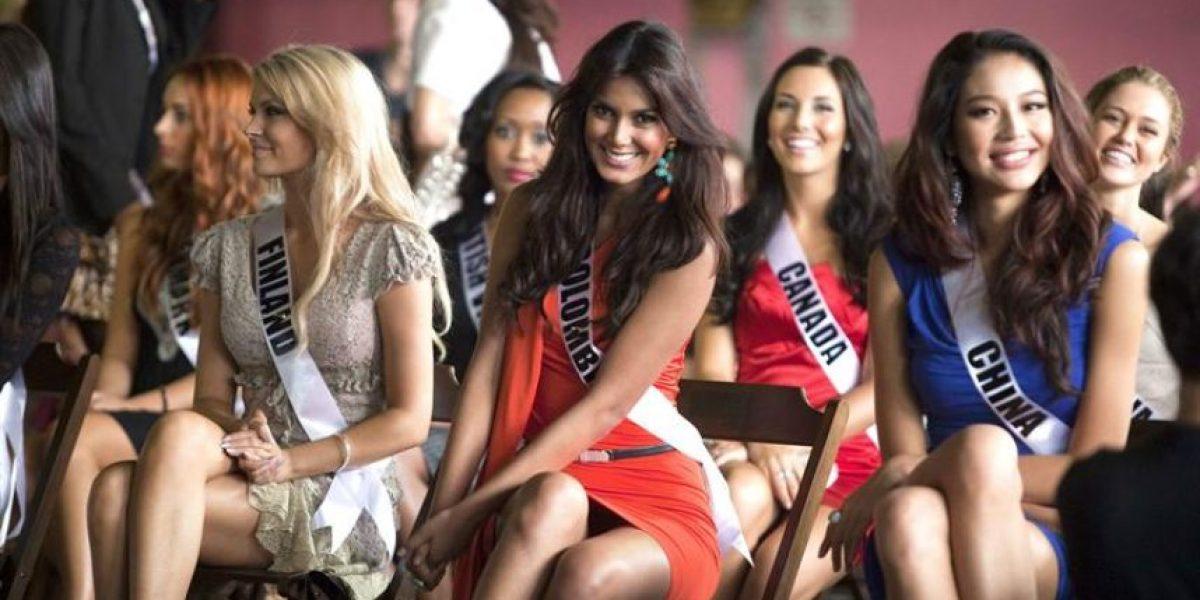 [FOTOS] Miss Colombia posa sin ropa interior y es captada por fotógrafos