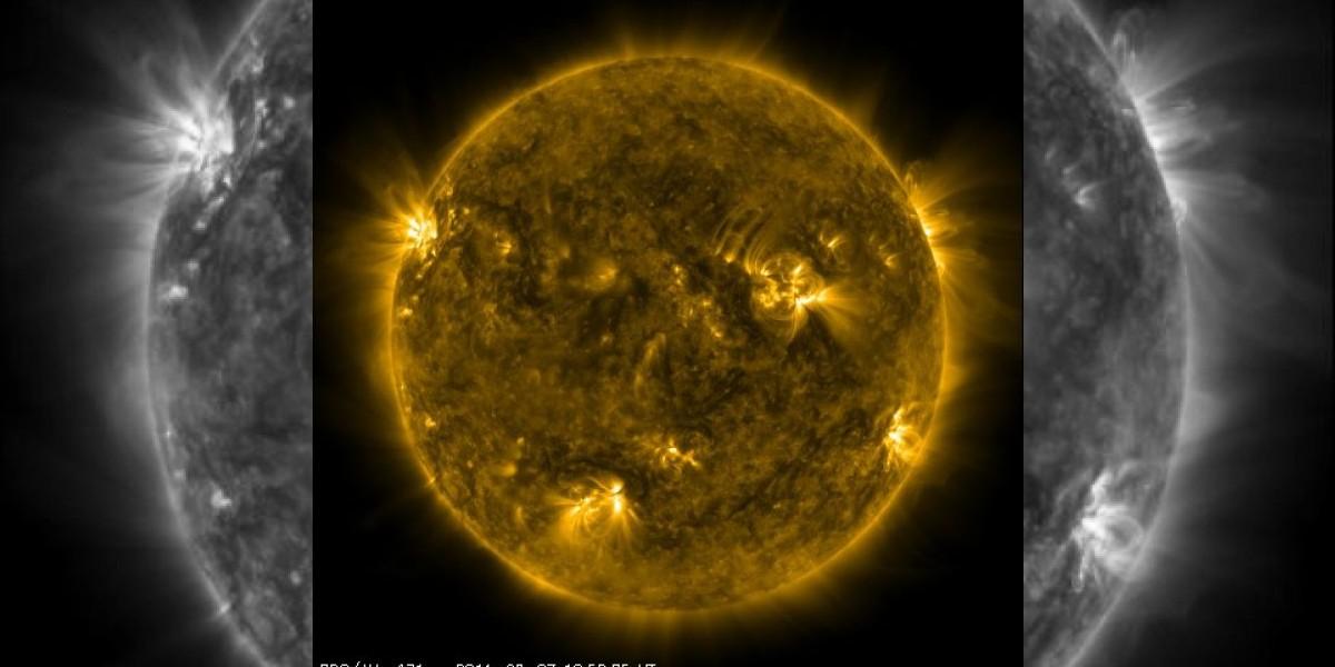 NASA y llamaradas solares: