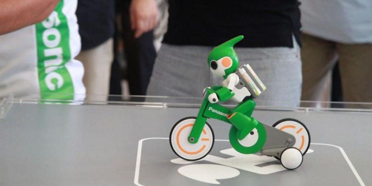 [FOTOS] Robot que ocupa pilas