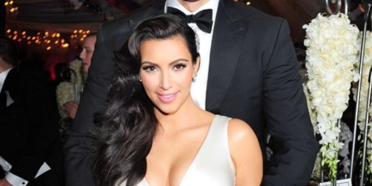 [FOTOS] Publican imágenes inéditas de la boda de Kim Kardashian