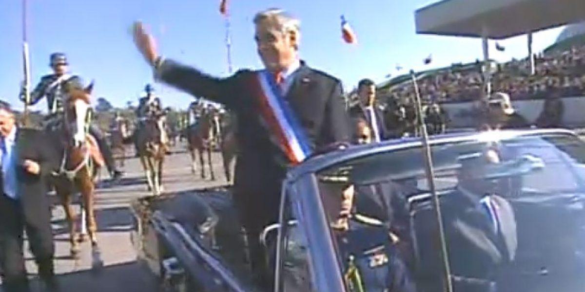 Finaliza la Parada Militar recordando a las víctimas de Juan Fernández
