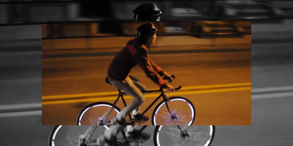 Ilumina tu bici sin pilas
