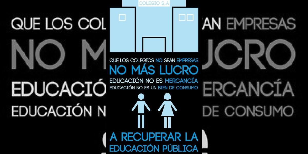 [FOTO] Con este afiche llaman a manifestarse por la educación