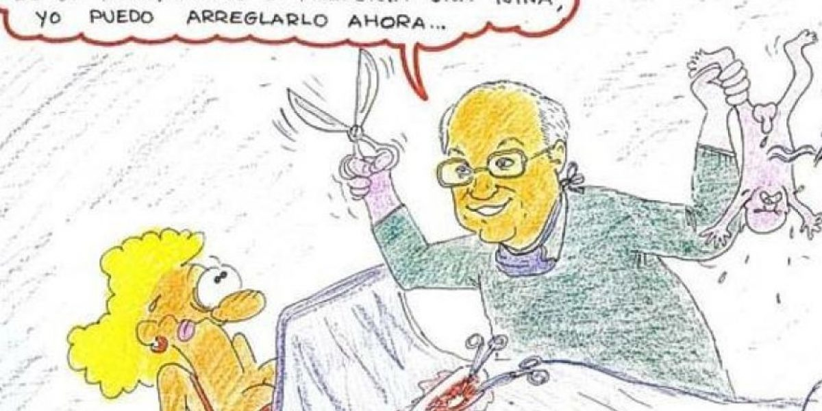 Estas caricaturas de ginecólogos y pacientes desatan polémica en España