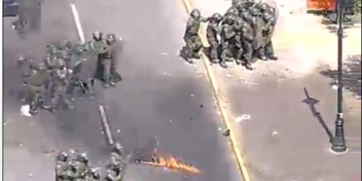 Minuto a minuto: Así fue la nueva marcha de estudiantes y los incidentes del final