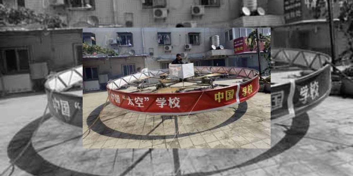 Campesino chino se contruyó su propio