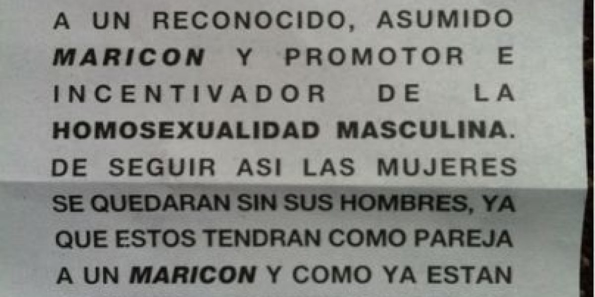 Denuncian campaña homofóbica contra Jordi Castell