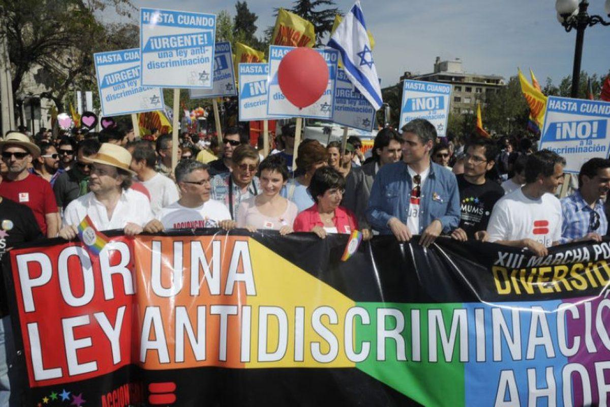 Apoyo transversal logró la marcha por la diversidad. Foto:UPI. Imagen Por: