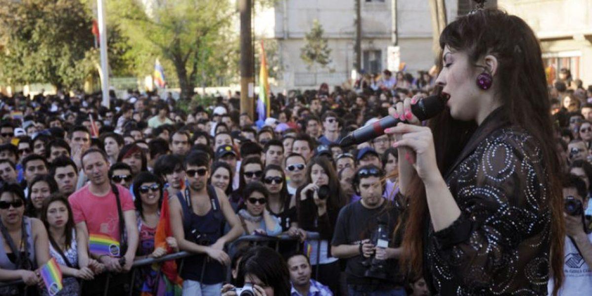 Exitosa convocatoria: miles de personas marcharon por la diversidad sexual