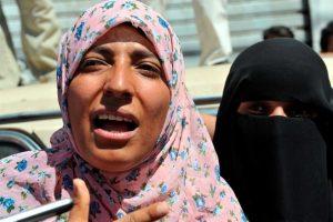 La activista defensora de los derechos humanos yemení Tawakul Karman. Foto:EFE. Imagen Por: