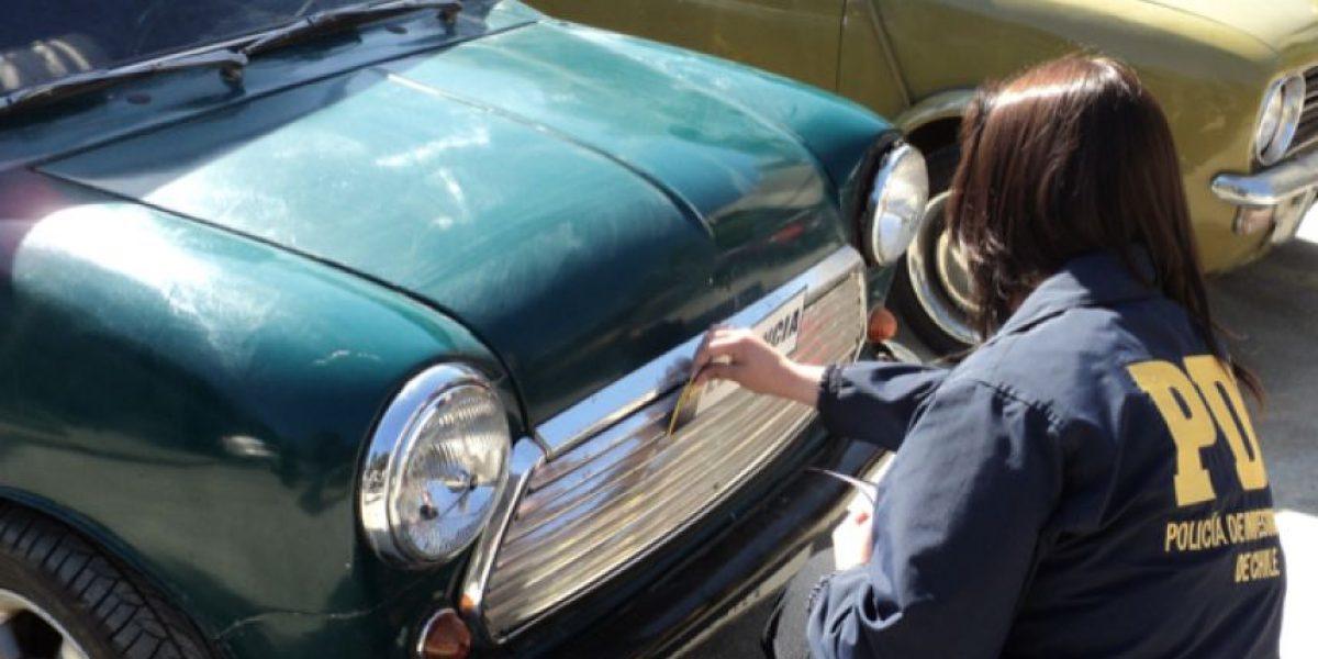 PDI incauta 100 millones en autos de colección Mini de los años 60