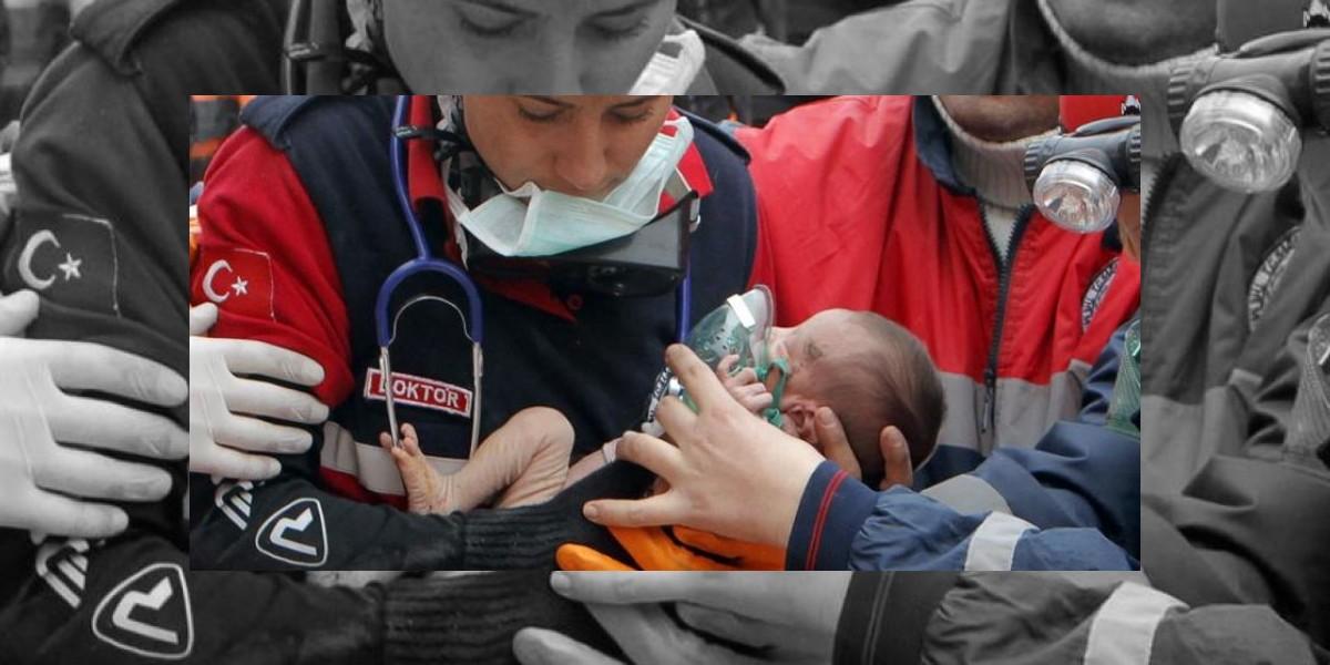 Milagro en Turquía: encuentran viva a bebé de dos semanas a dos días del terremoto