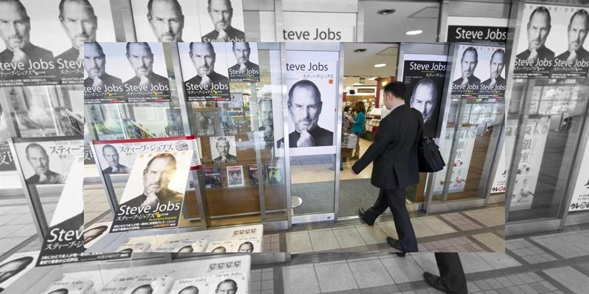 Steve Jobs alaba a Mark Zuckerberg y critica a Bill Gates en libro biográfico