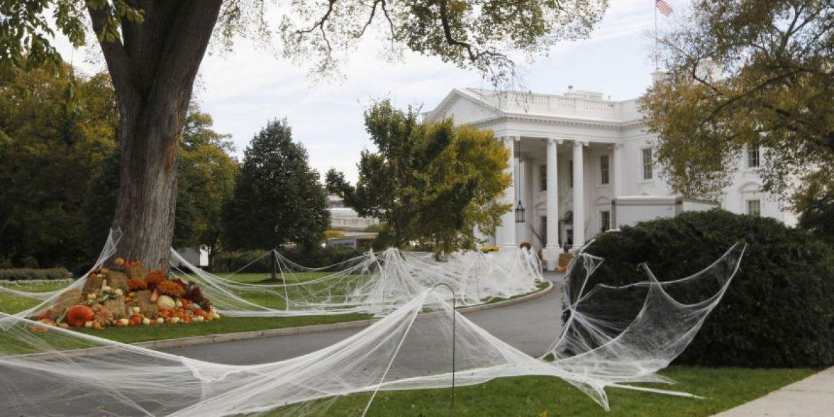 [FOTOS] La Casa Blanca se transforma para celebrar Halloween