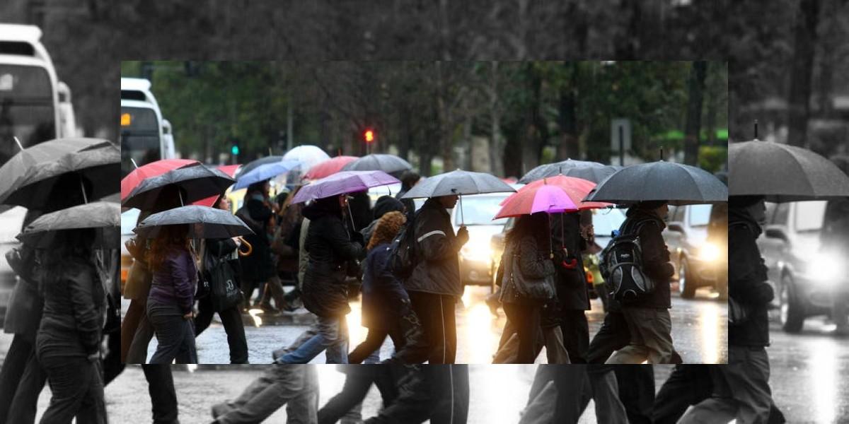 Pronostican probable lluvia para esta tarde en Santiago