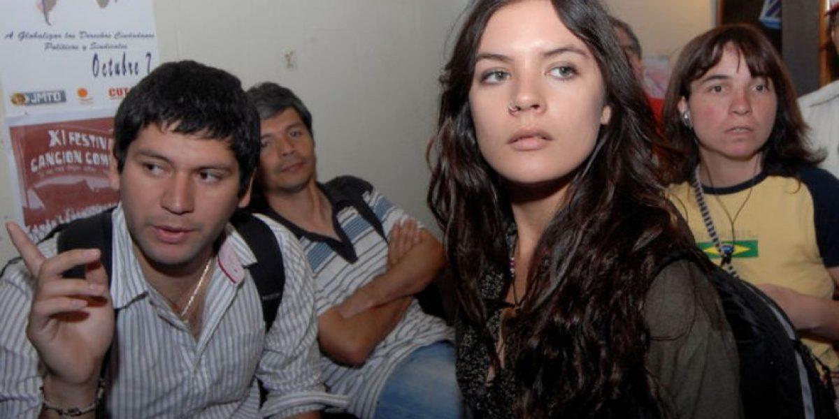 [FOTOS] Camila Vallejo y Giorgio Jackson reaparecen para anunciar movilizaciones