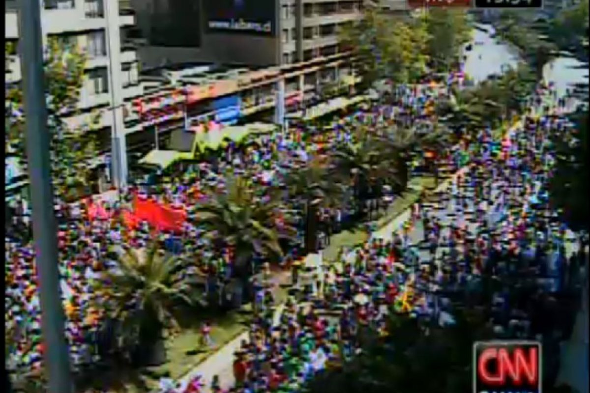 Foto:Reproducción CNN Chile. Imagen Por: