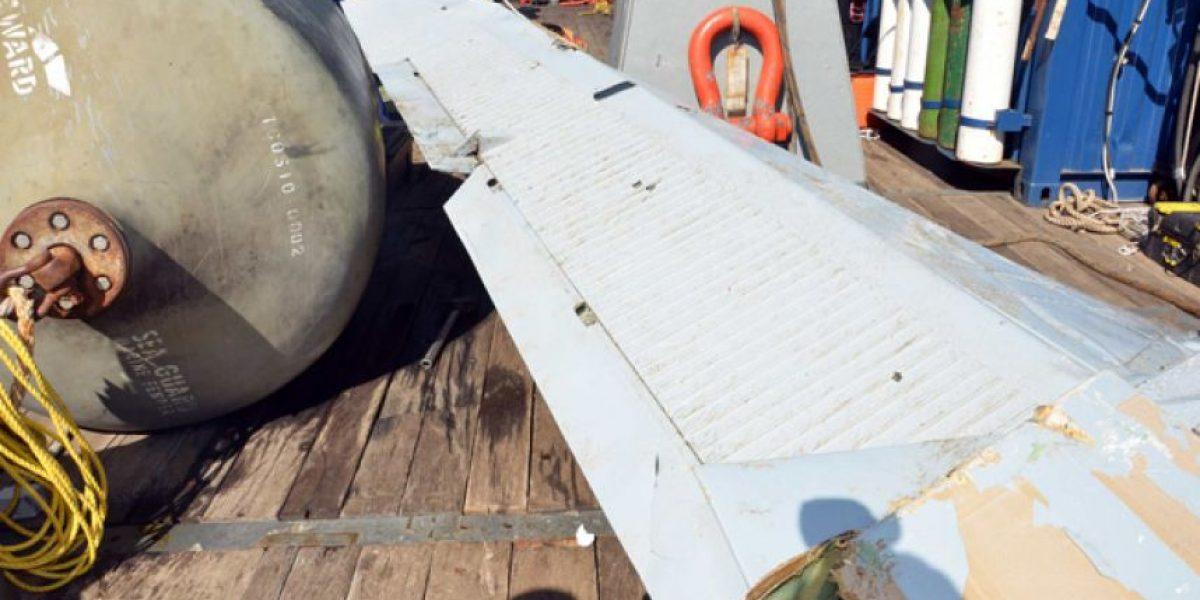 [FOTOS] Imágenes de los restos del avión encontrados en Juan Fernández