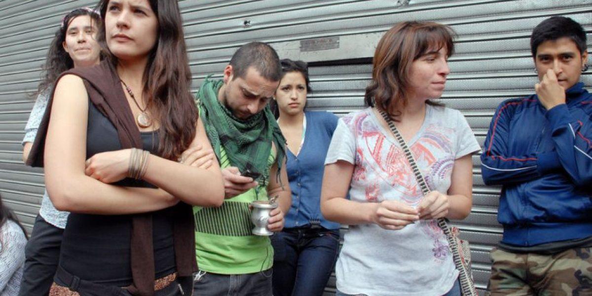 [FOTOS] Camila Vallejo interviene para que estudiantes depongan toma