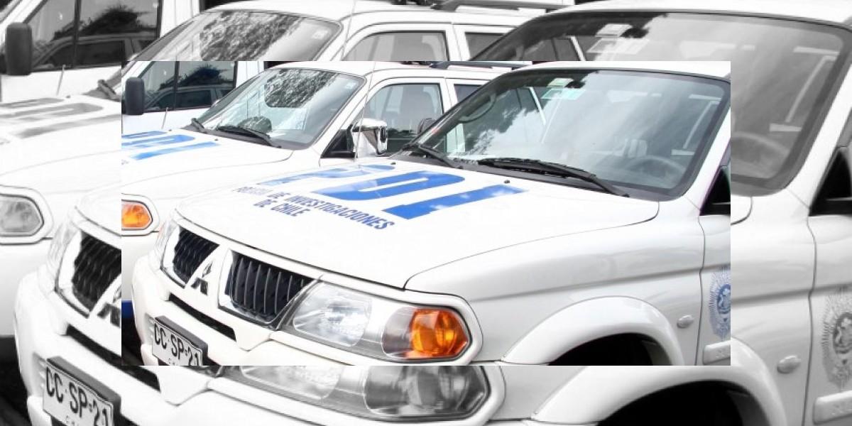 PDI captura a presunto autor de crímenes de dos menores al interior de un Transantiago