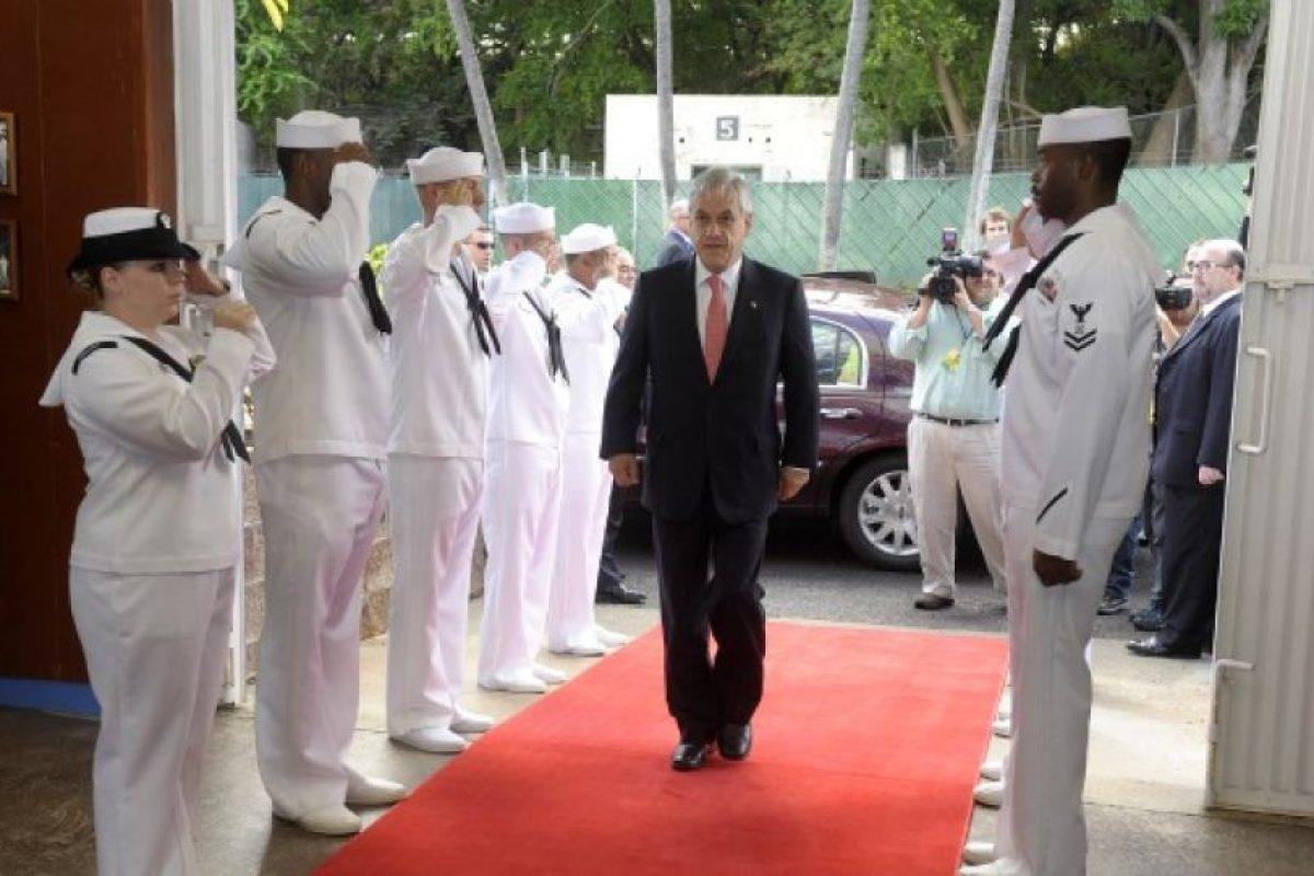 El Mandatario visitó la base de Pearl Harbour. Foto:Presidencia. Imagen Por: