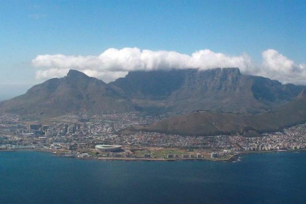 Montaña Mesa, en Ciudad del Cabo, Sudáfrica Foto:EFE. Imagen Por: