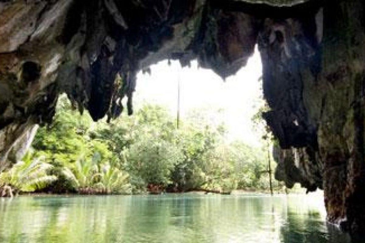 Los ríos subterráneos de Puerto Princesa, Filipinas Foto:new7wonders.com. Imagen Por: