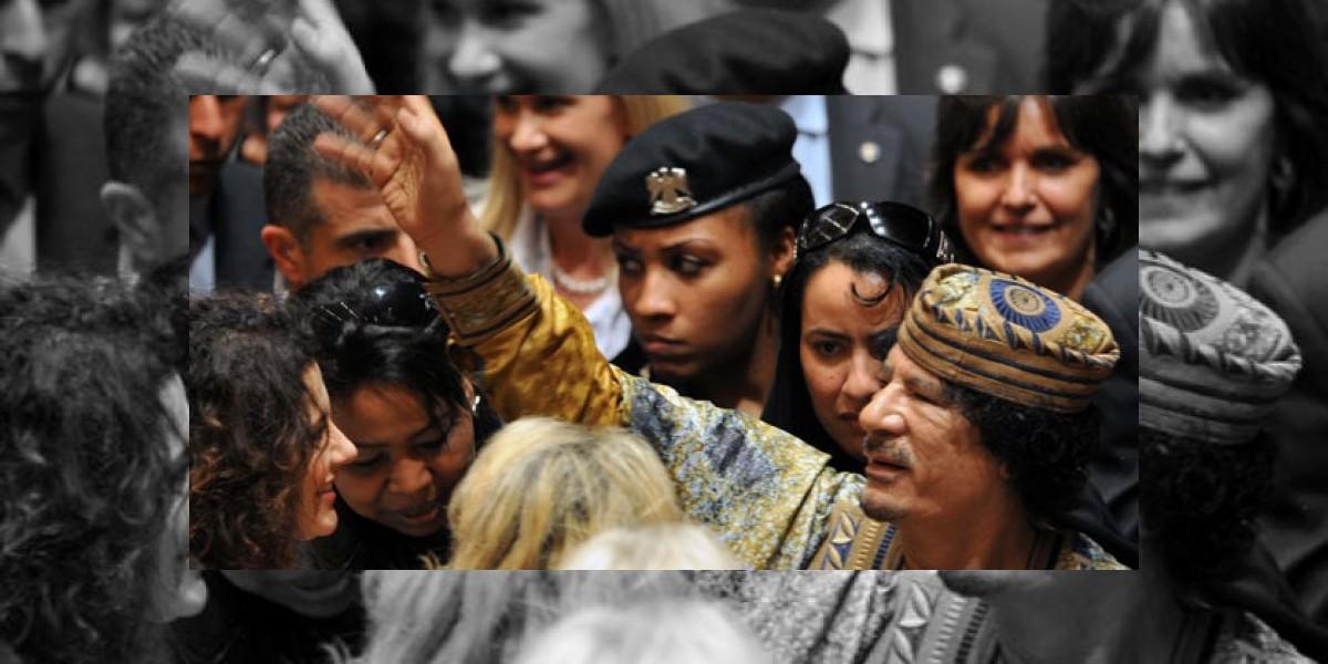 Cercano a Gadafi comenta curiosos detalles de su vida sexual