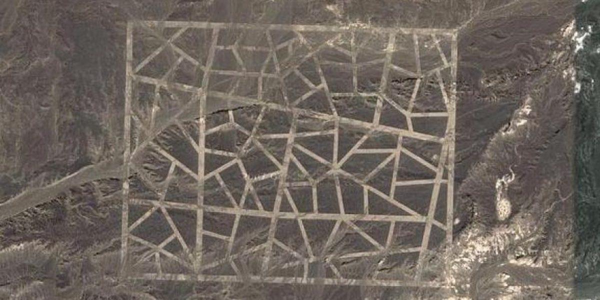 Misteriosos dibujos captados desde el espacio disparan rumores en la web
