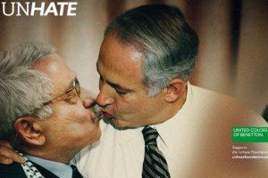 Elpresidente palestino Mahmoud Abbas y el primer ministro israelí Benjamin Netanyahuy.. Imagen Por: