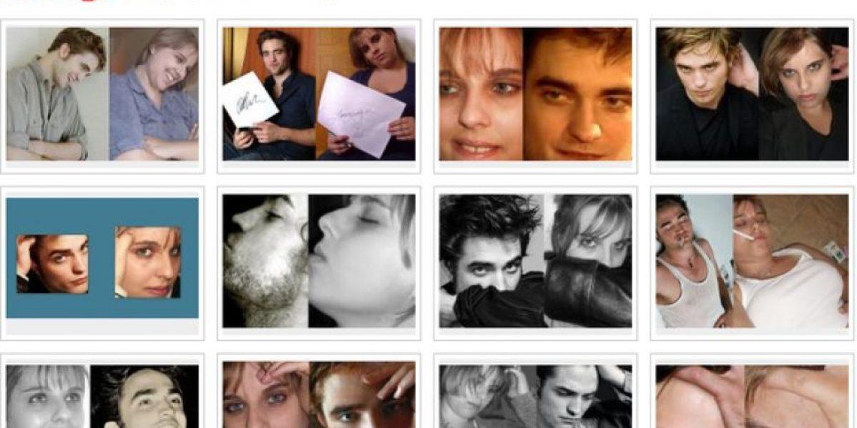 [FOTOS]Fan de Robert Pattinson se ha sacado decenas de fotos igual a él