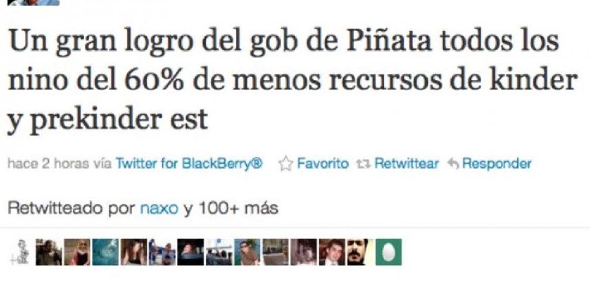 Tuiteros festinan con lapsus del senador Espina sobre Presidente Piñera