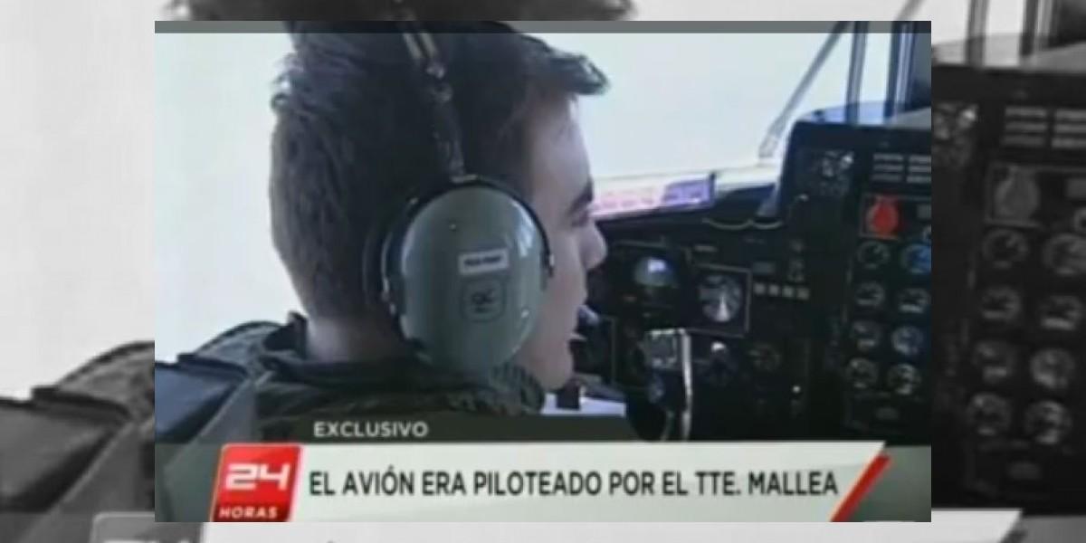 Madre del piloto Mallea acusa