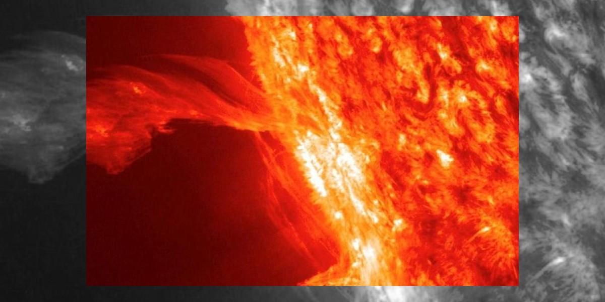 Así podría ser la última llamarada del Sol