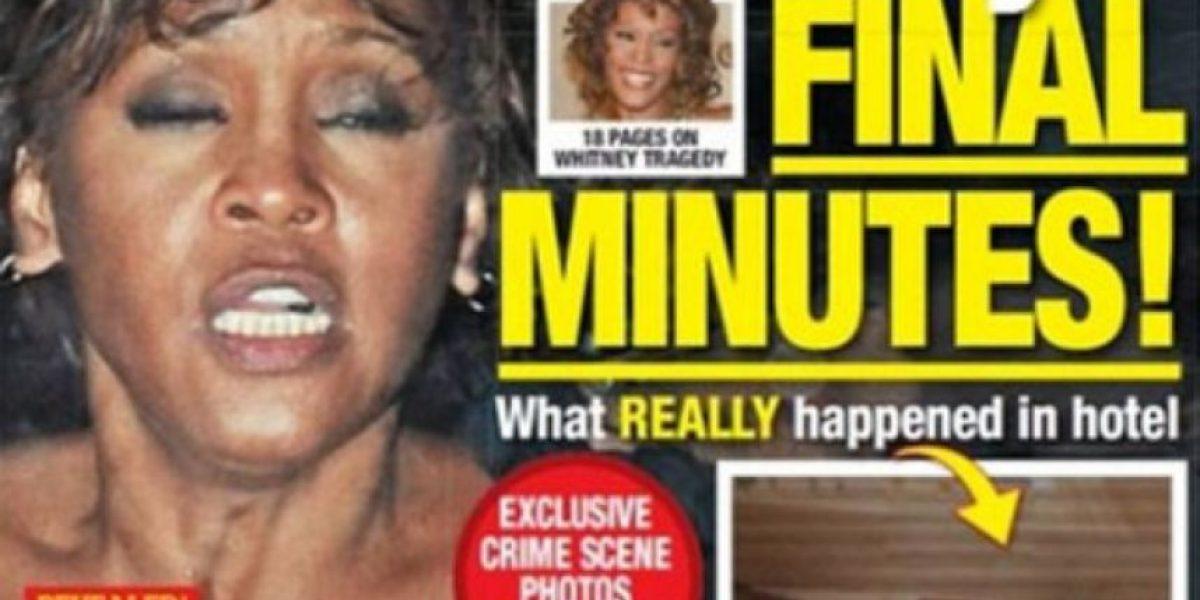 Indignación en EEUU por portada con falso cadáver de Whitney Houston