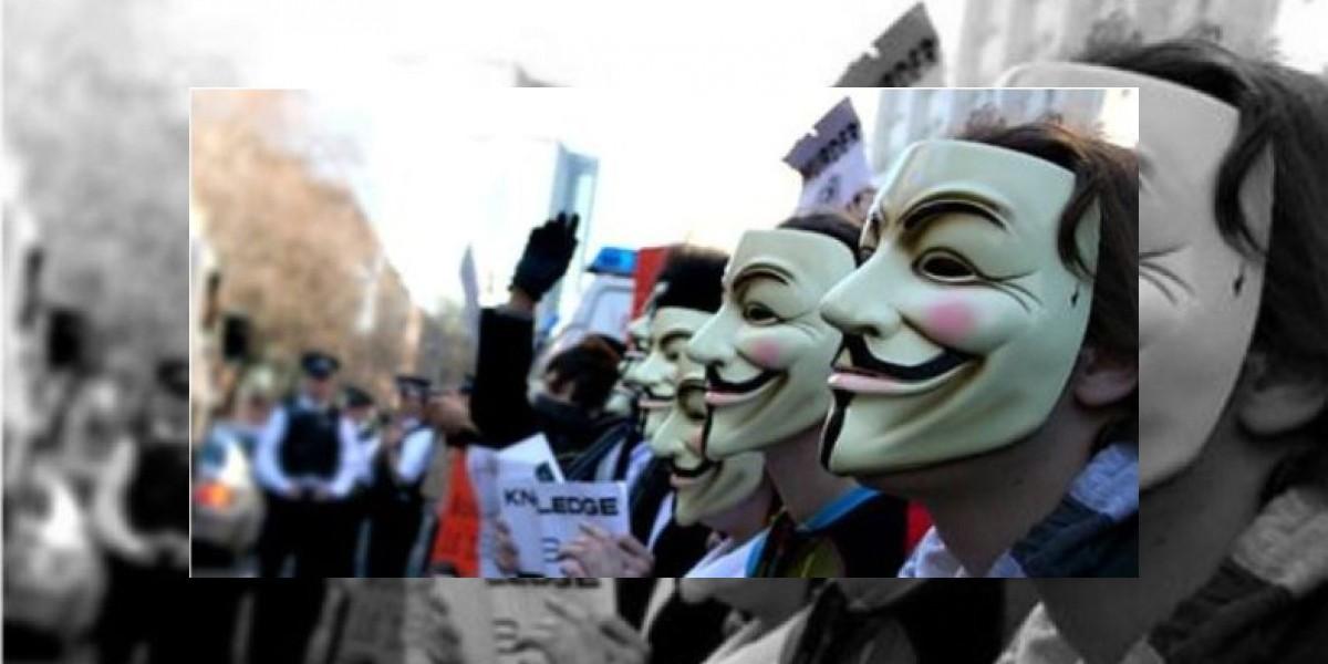 Anonymous en picada contra la página de Interpol por detenciones masivas