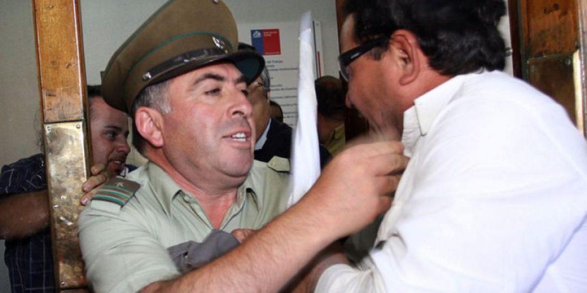 [FOTOS] Violentos enfrentamientos en toma de la Inspección del Trabajo
