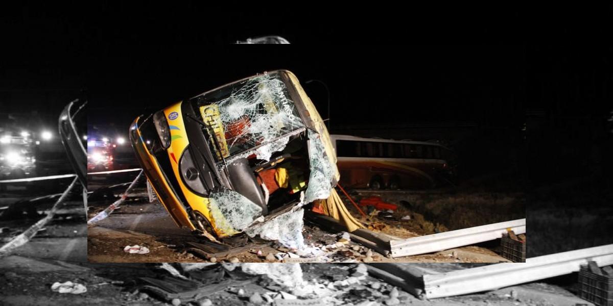A siete ascienden las víctimas del accidente de buses ocurrido en San Carlos
